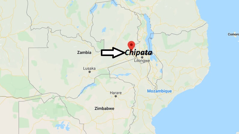 Where is Chipata Located? What Country is Chipata in? Chipata Map