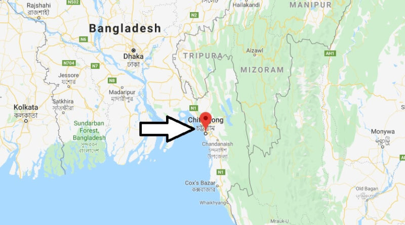 Where is Chittagong Located? What Country is Chittagong in? Chittagong Map