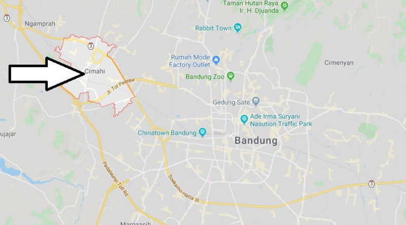 Where is Cimahi Located? What Country is Cimahi in? Cimahi Map