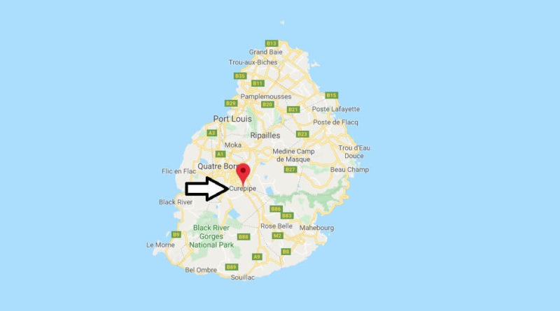 Where is Curepipe Located? What Country is Curepipe in? Curepipe Map