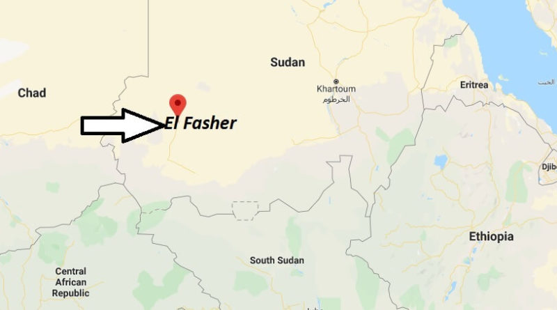 Where is El Fasher Located? What Country is El Fasher in? El Fasher Map
