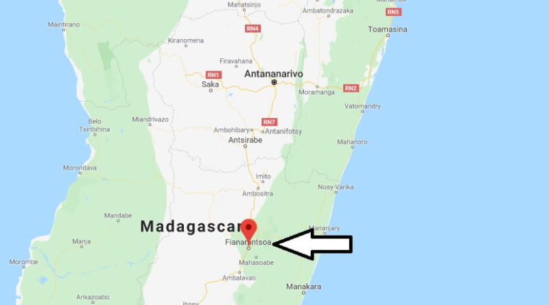 Where is Fianarantsoa Located? What Country is Fianarantsoa in? Fianarantsoa Map