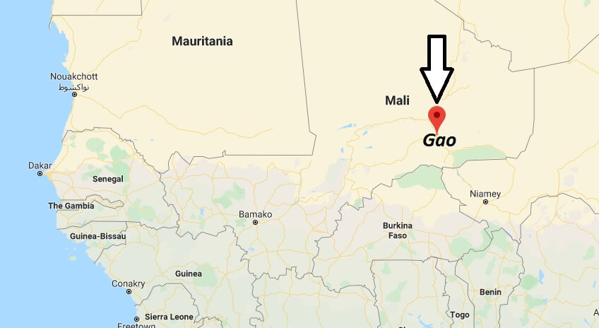 Where is Gao Located? What Country is Gao in? Gao Map