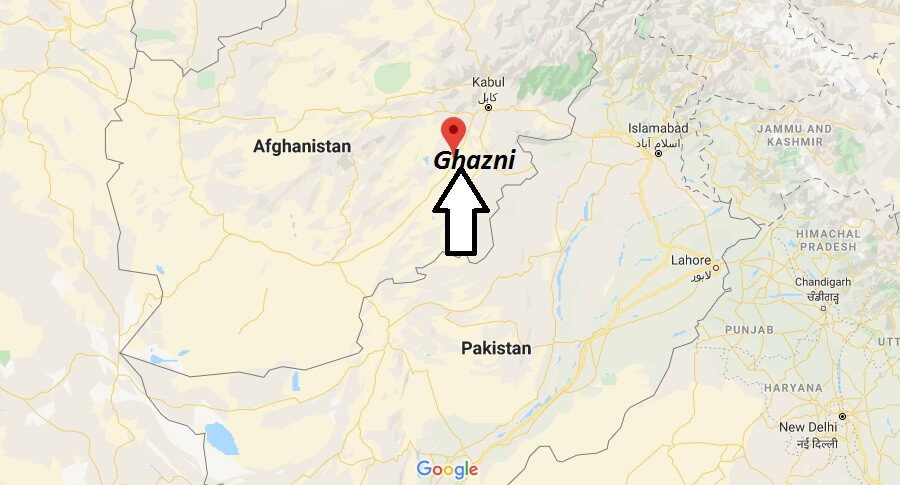 Where is Ghazni Located? What Country is Ghazni in? Ghazni Map