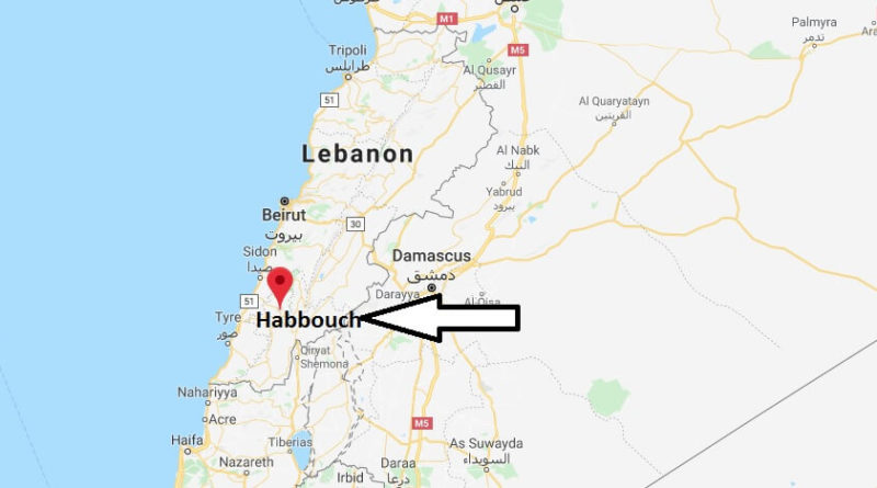 Where is Habbouch Located? What Country is Habbouch in? Habbouch Map