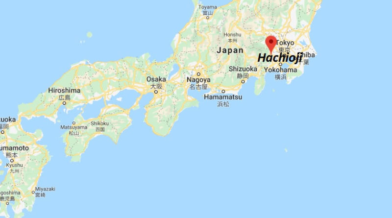 Where is Hachioji Located? What Country is Hachioji in? Hachioji Map