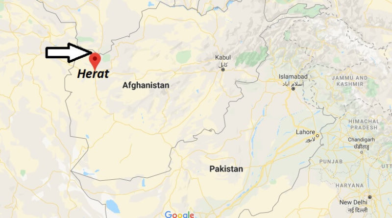 Where is Herat Located? What Country is Herat in? Herat Map