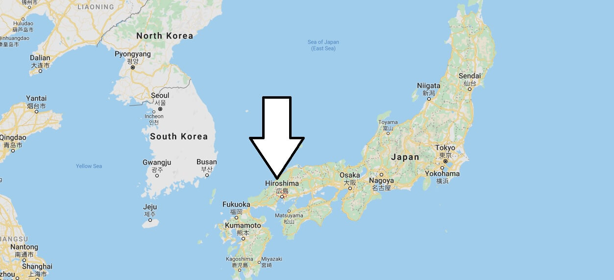 Where is Hiroshima Located? What Country is Hiroshima in? Hiroshima Map