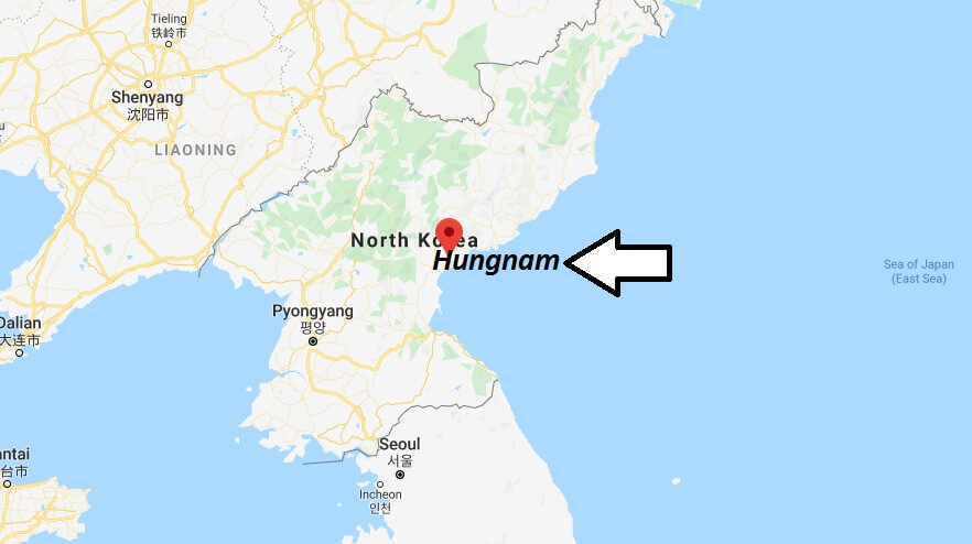 Where is Hungnam Located? What Country is Hungna min? Hungnam Map