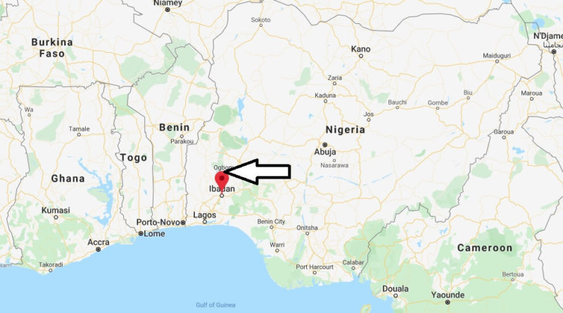 Where is Ibadan Located? What Country is Ibadan in? Ibadan Map