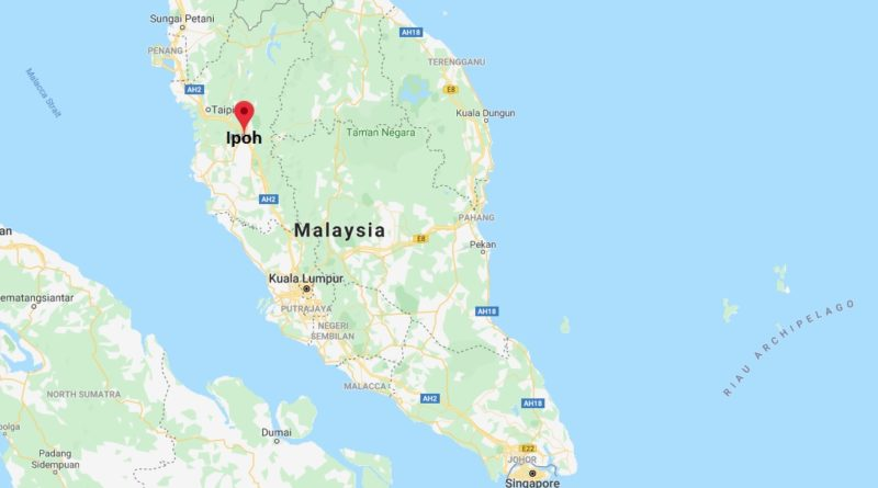 Where is Ipoh Located? What Country is Ipoh in? Ipoh Map