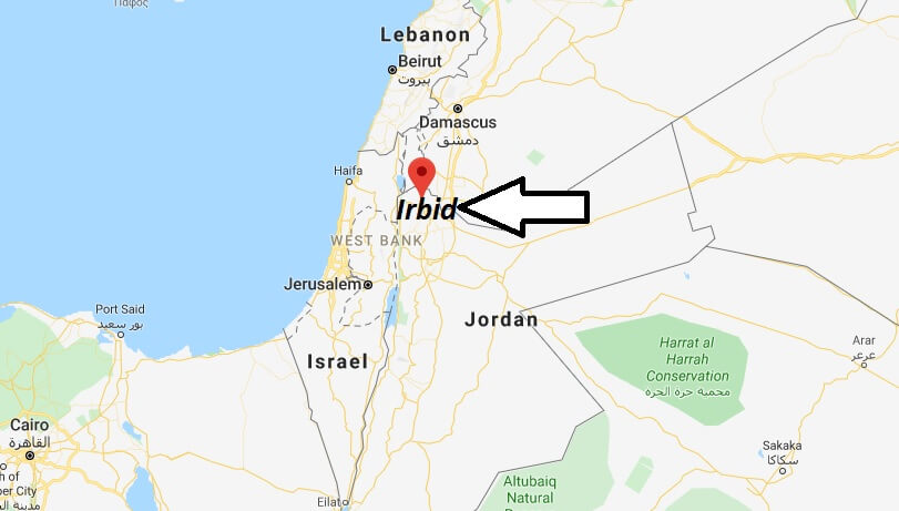 Where is Irbid Located? What Country is Irbid in? Irbid Map