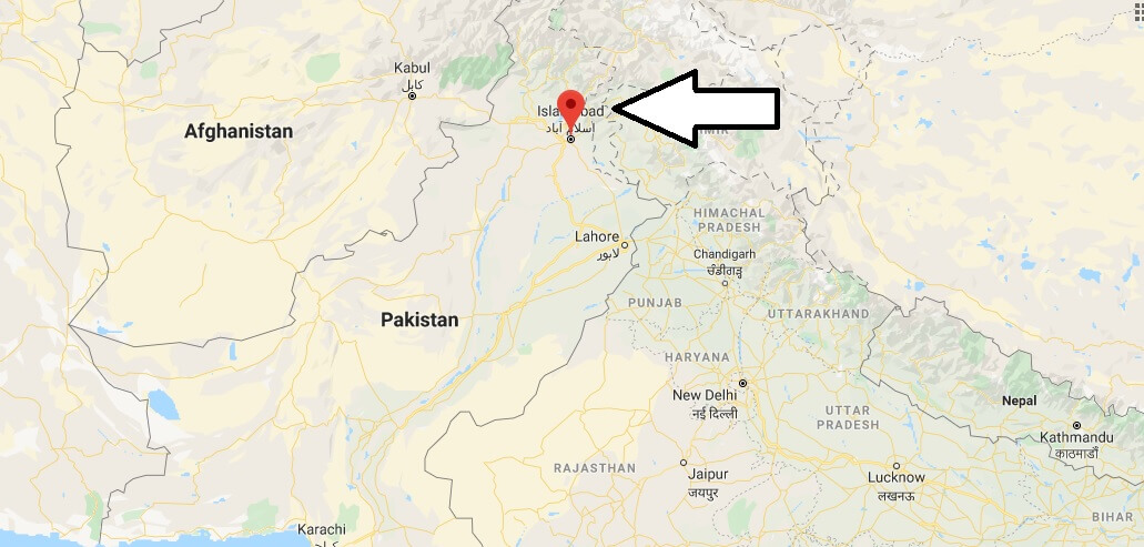 Where is Islamabad Located? What Country is Islamabad in? Islamabad Map