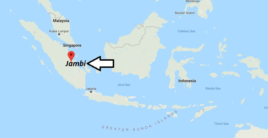 Where is Jambi Located? What Country is Jambi in? Jambi Map