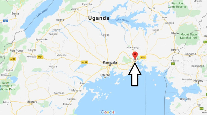 Where is Jinja Located? What Country is Jinja in? Jinja Map