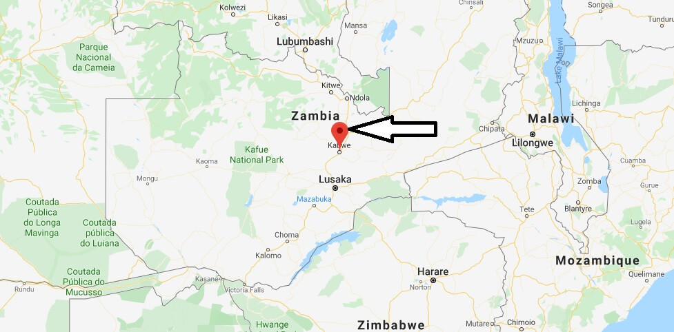 Where is Kabwe Located? What Country is Kabwe in? Kabwe Map