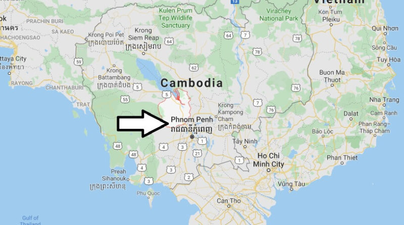 Where is Kampong Chhnang Located? What Country is Kampong Chhnang in? Kampong Chhnang Map