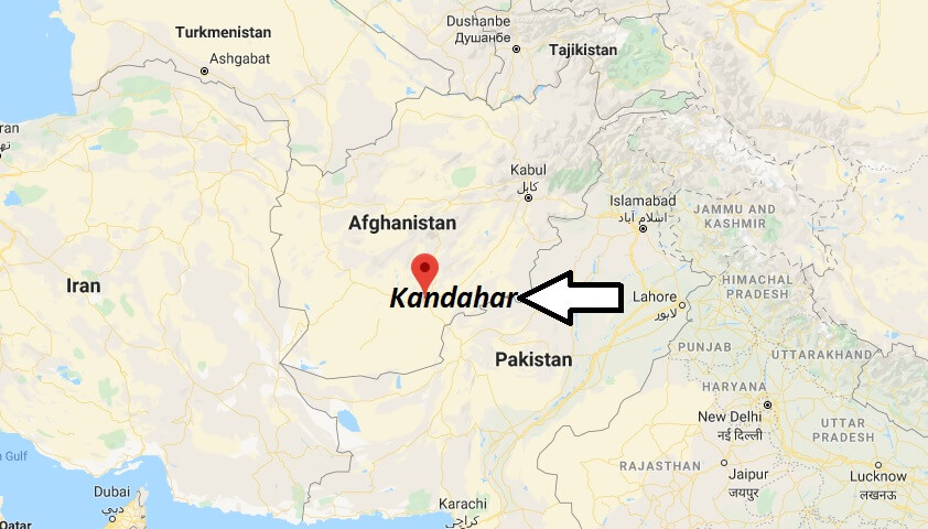 Where is Kandahar Located? What Country is Kandahar in? Kandahar Map