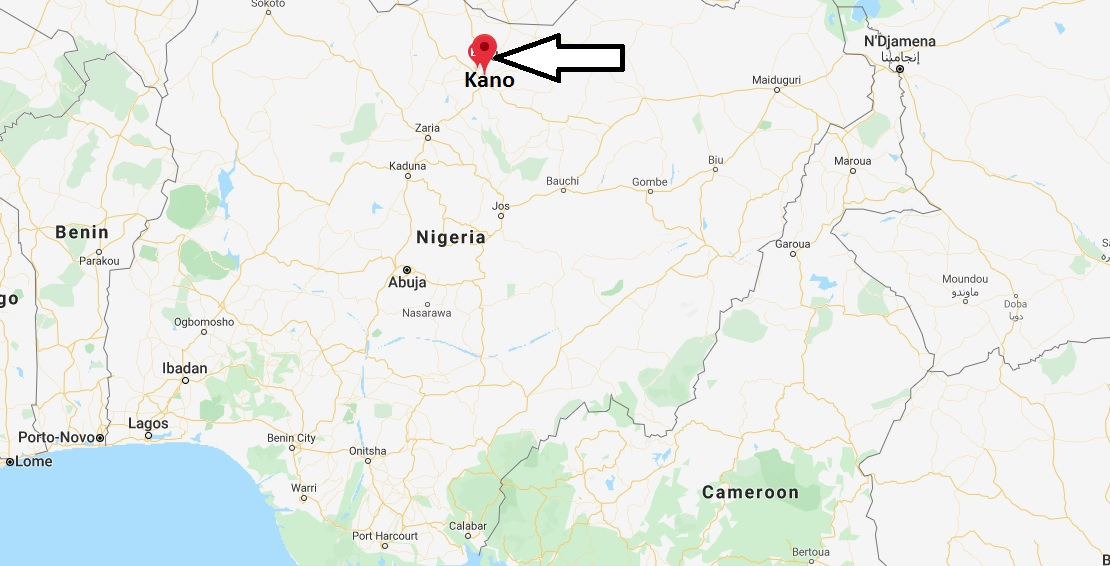 Where is Kano Located? What Country is Kano in? Kano Map