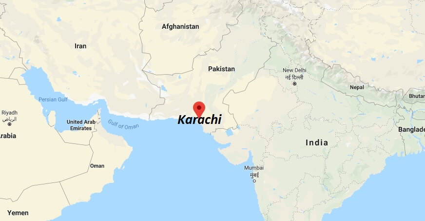 Where is Karachi Located? What Country is Karachi in? Karachi Map