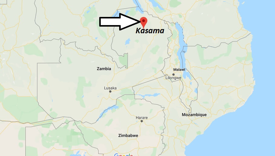 Where is Kasama Located? What Country is Kasama in? Kasama Map