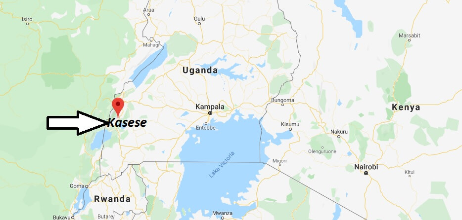 Where is Kasese Located? What Country is Kasese in? Kasese Map