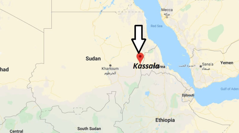 Where is Kassala Located? What Country is Kassala in? Kassala Map