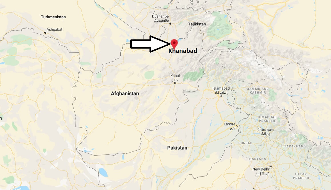 Where is Khanabad Located? What Country is Khanabad in? Khanabad Map