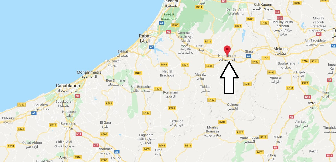 Where is Khemisset Located? What Country is Khemisset in? Khemisset Map