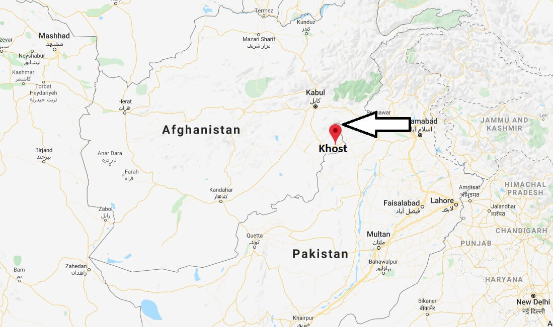 Where is Khost Located? What Country is Khost in? Khost Map