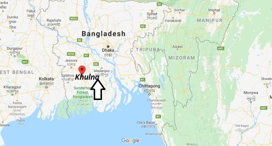 Where is Khulna Located? What Country is Khulna in? Khulna Map