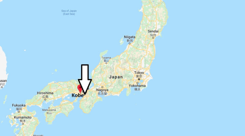 Where is Kobe, Japan Located? What Country is Kobe in? Kobe Map