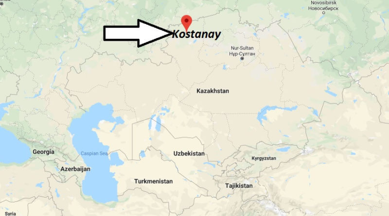 Where is Kostanay Located? What Country is Kostanay in? Kostanay Map