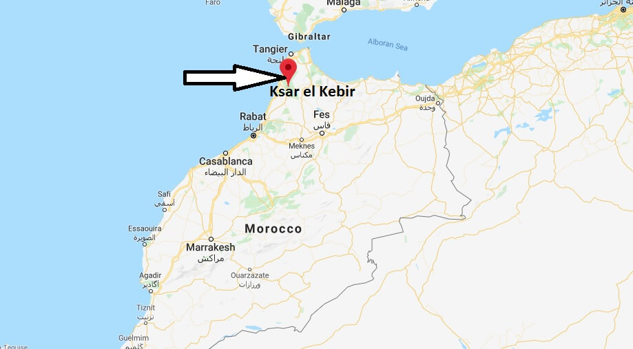 Where is Ksar el Kebir Located? What Country is Ksar el Kebir in? Ksar el Kebir Map