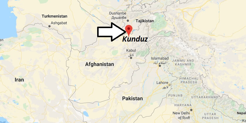 Where is Kunduz Located? What Country is Kunduz in? Kunduz Map