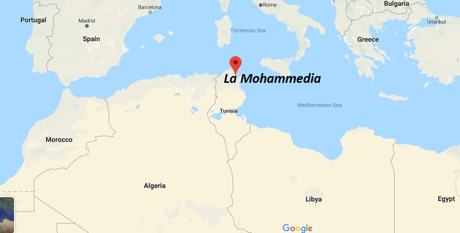 Where is La Mohammedia Located? What Country is La Mohammedia in? La Mohammedia Map