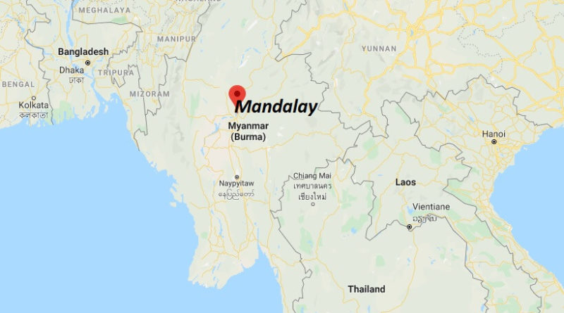 Where is Mandalay Located? What Country is Mandalay in? Mandalay Map