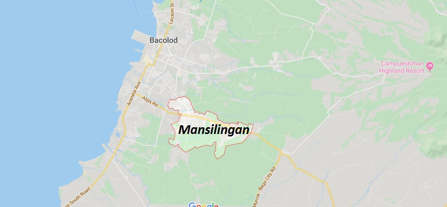 Where is Mansilingan Located? What Country is Mansilingan in? Mansilingan Map