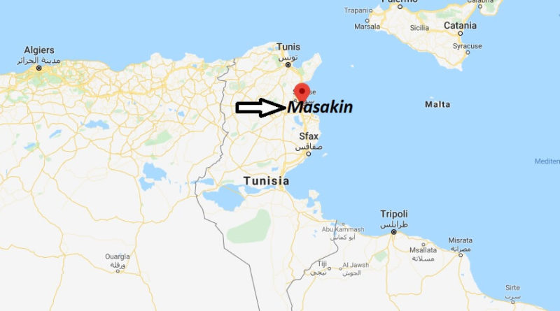 Where is Masakin Located? What Country is Masakin in? Masakin Map