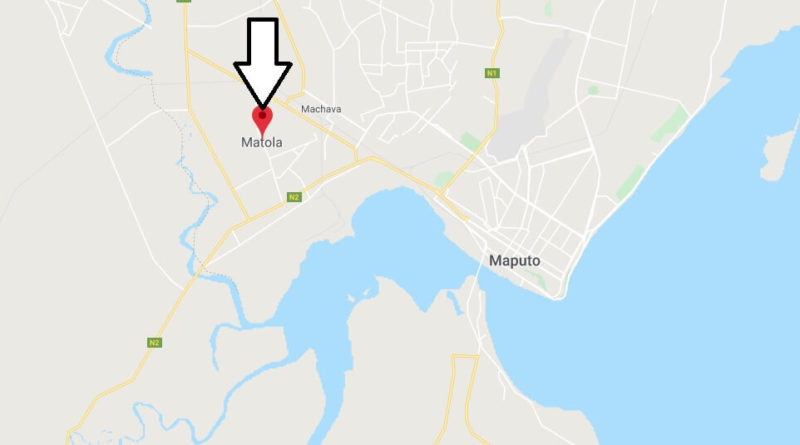 Where is Matola Located? What Country is Matola in? Matola Map
