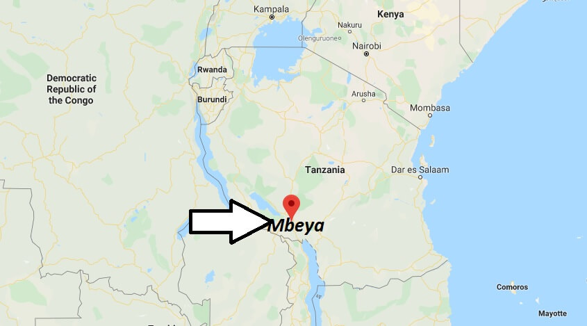 Where is Mbeya Located? What Country is Mbeya in? Mbeya Map