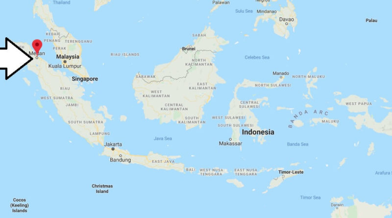 Where is Medan Located? What Country is Medan in? Medan Map