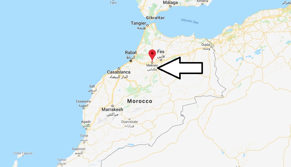 Where is Meknes Located? What Country is Meknes in? Meknes Map