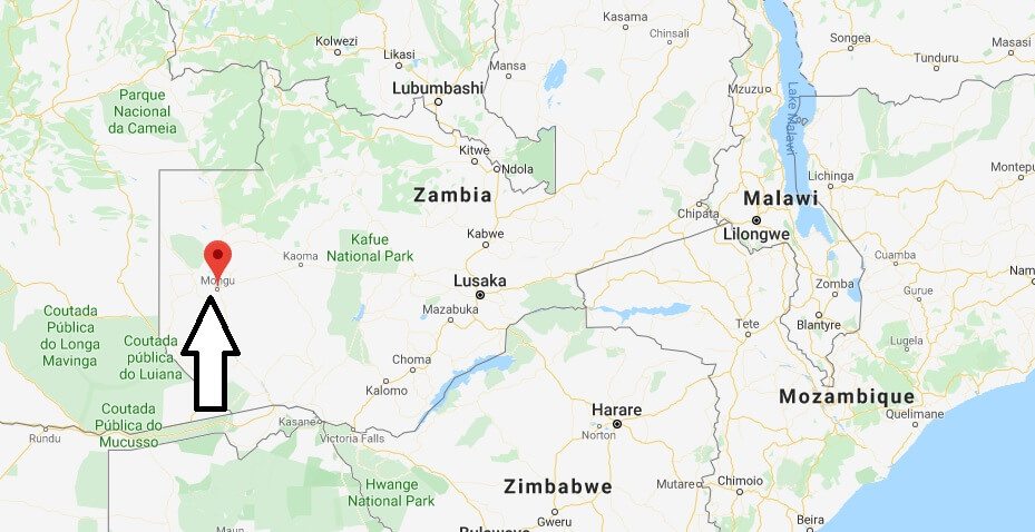 Where is Mongu Located? What Country is Mongu in? Mongu Map