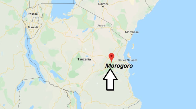 Where is Morogoro Located? What Country is Morogoro in? Morogoro Map