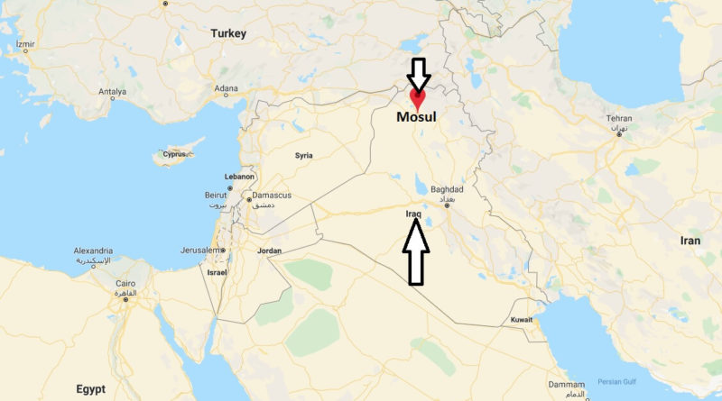 Where is Mosul Located? What Country is Mosul in? Mosul Map