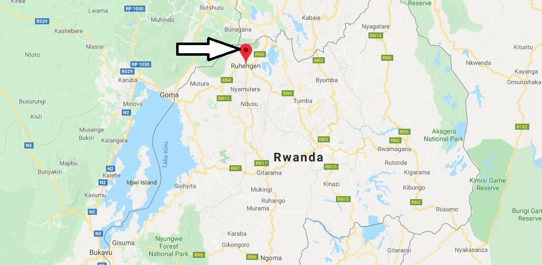 Where is Musanze, Rwanda Located? What Country is Musanze in? Musanze Map