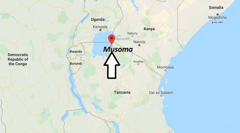 Where is Musoma Located? What Country is Musoma in? Musoma Map