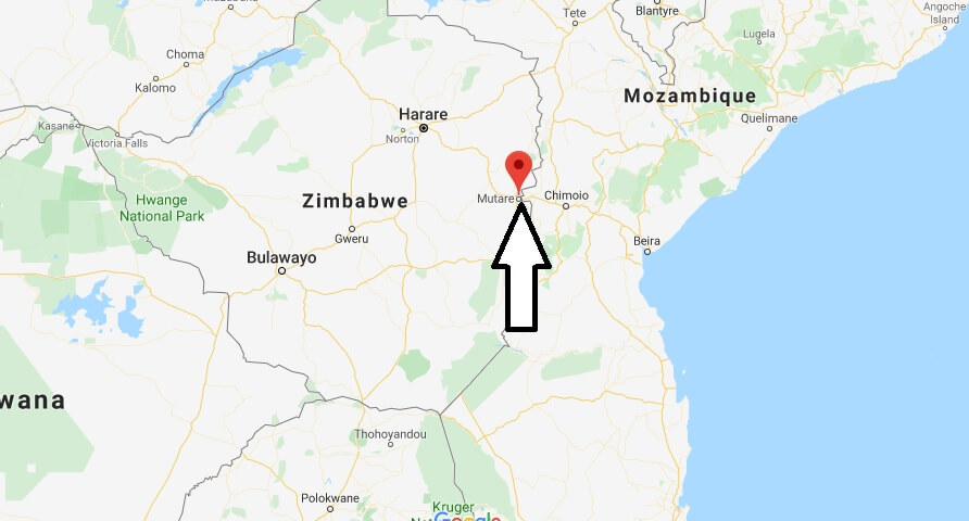 Where is Mutare Located? What Country is Mutare in? Mutare Map