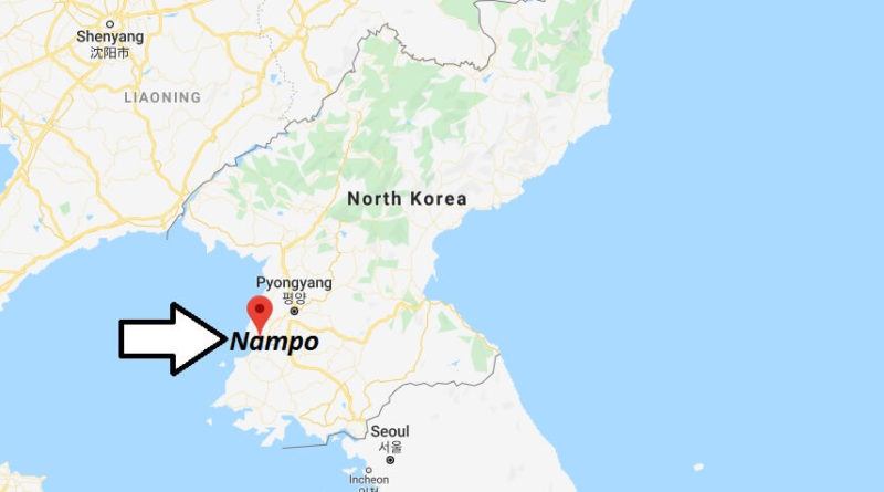 Where is Nampo Located? What Country is Nampo in? Nampo Map